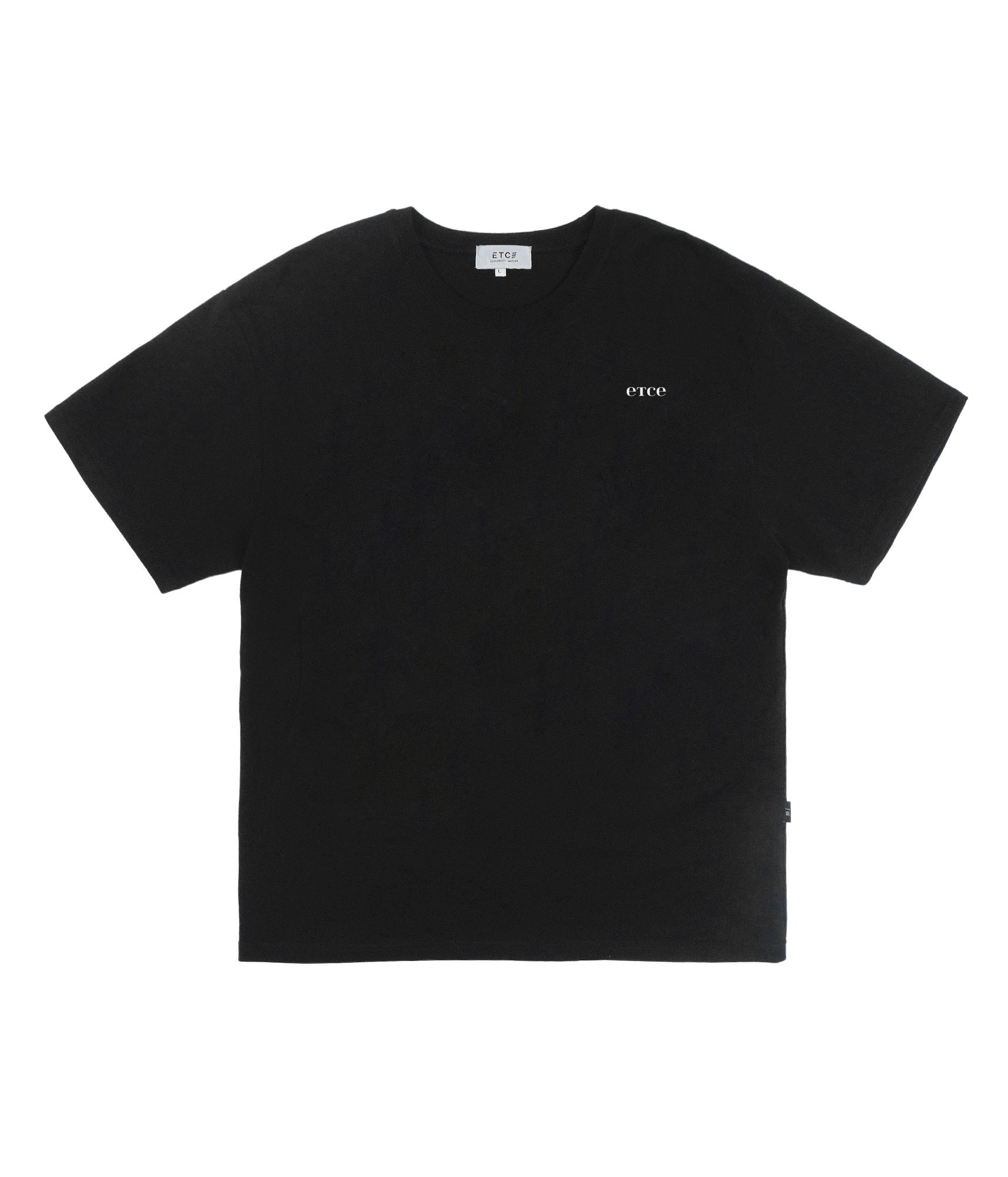 Basic Logo Regular T-Shirt (Black)